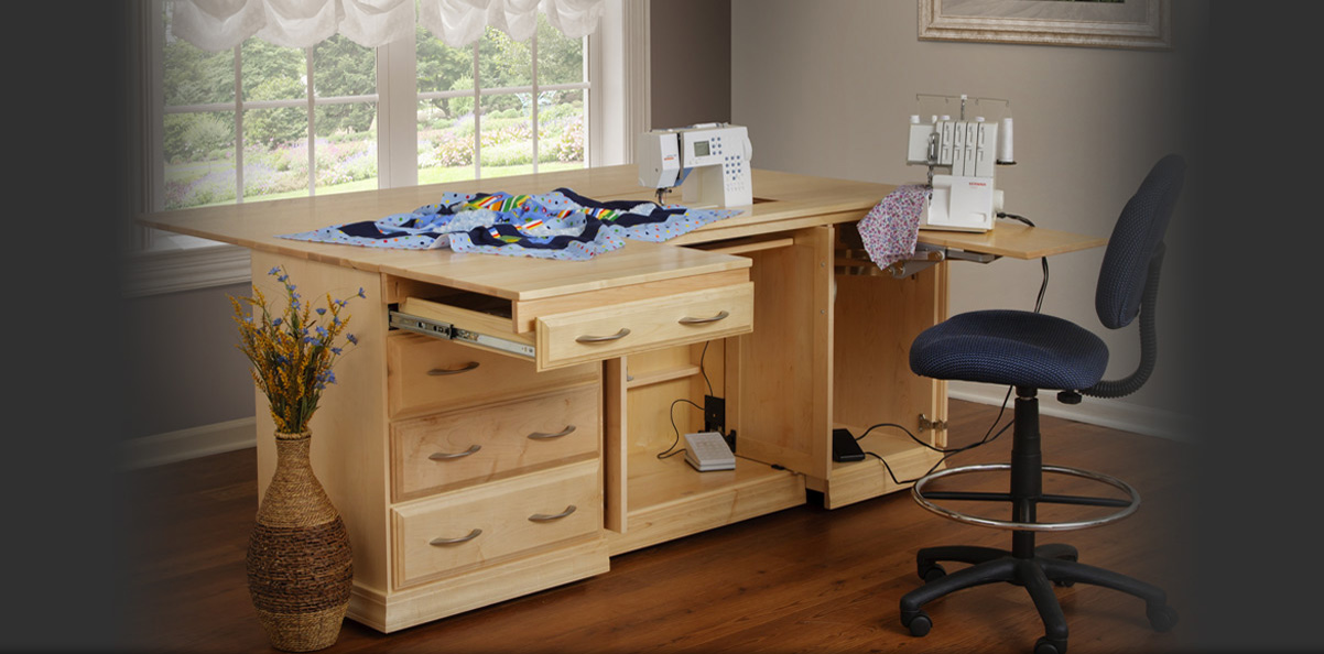Sewing Machine Cabinets Serger Cabinets Crafting Tables